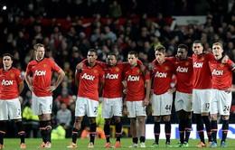 """""""Bật bãi"""" khỏi League Cup, Man Utd đối diện mùa giải trắng tay"""
