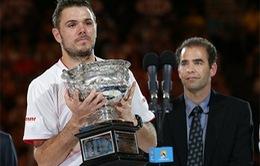 """Hạ gục """"ông vua"""" Nadal, Wawrinka lần đầu lên ngôi tại Australian Open"""