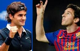 Khi FedEx và Messi thử sức ở những môn thể thao khác