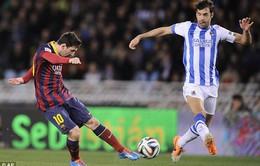 Messi san bằng kỉ lục vô tiền khoáng hậu ở La Liga