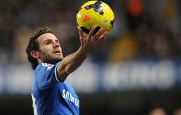 Bản tin chuyển nhượng ngày 13/1: Man Utd nhăm nhe chiếm đoạt Juan Mata