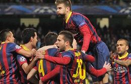 """HLV Martino chưa """"mãn nguyện"""" về màn trình diễn của Barca"""