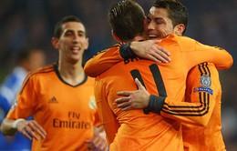 VIDEO: Real Madrid huỷ diệt Schalke bằng tỉ số 1 set tennis