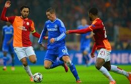 VIDEO: Galatasaray - Chelsea: Bất phân thắng bại