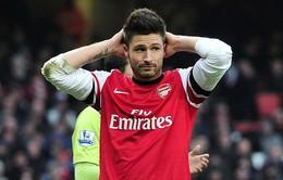 Giroud trở lại sau vụ bê bối tình ái