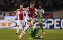 Tứ đại gia Ngoại hạng Anh đại chiến vì trung vệ của Ajax