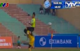 Bạo lực sân cỏ - Nỗi buồn bóng đá Việt