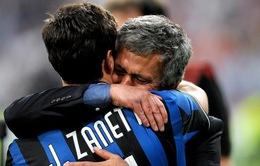 Zanetti chưa muốn phò tá Mourinho