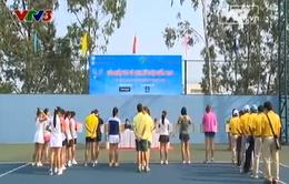 Bất cập khâu tổ chức giải Tennis nữ VĐQG