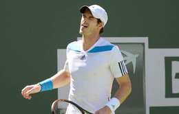 """""""Động đất"""" lần II tại Indian Wells: Murray nối gót Nadal trở thành khán giả"""
