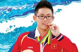 """Lâm Quang Nhật - """"Kình ngư vàng"""" của bơi lội Việt Nam"""