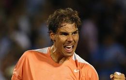 """Miami Masters: """"Vua Masters"""" Nadal khởi động hoàn hảo bằng màn """"hủy diệt"""" Lleyton Hewitt"""