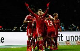 """""""Ông vua"""" Bayern xác lập chuỗi kỉ lục """"vô tiền khoáng hậu"""" tại Bundesliga"""