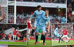 Arsenal 1-1 Man City: Chia điểm xứng đáng (VIDEO)