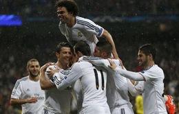 """Real Madrid 3-0 Dortmund: """"Rửa hận"""" người Đức (VIDEO)"""