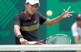 """Play-off nhóm II Davis Cup: """"ĐT Việt Nam hài lòng với thắng lợi đầu tiên của Đỗ Minh Quân"""""""
