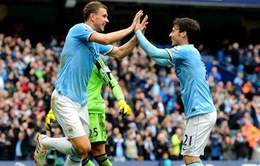 "Man City 4-1 Southampton: Etihad ""nuốt chửng"" con mồi (VIDEO)"