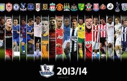 """Arsenal thất bại, Premier League 2013/14 chỉ còn là """"chuyện ba người"""""""