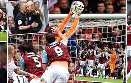 """West Ham 1-2 Liverpool: The Kop nhọc nhằn """"vượt cạn"""" nhờ cú đúp penalty"""