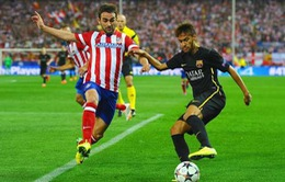 "Neymar ""ngả mũ"" trước Atletico Madrid"