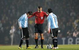 Tevez phủ nhận chuyện xích mích với Messi