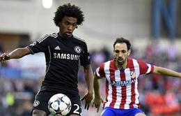 A.Madrid 0-0 Chelsea: Nín thở chờ trận sinh tử tại Stamford Bridge  (VIDEO)