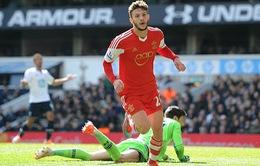 Phớt lờ Man Utd, Adam Lallana thẳng hướng tới Anfield