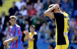 A.Madrid thua sốc, La Liga trở lại thế tam mã