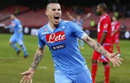 Bản tin tổng hợp sáng 20/4: Man Utd bị Napoli làm khó trong vụ Hamsik