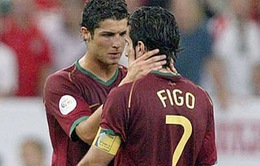 """C.Ronaldo kém thông minh hơn Luis Figo"""