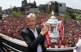"""Vô địch FA Cup, HLV Arsene Wenger được duyệt chi 100 triệu bảng cho """"chợ Hè"""""""