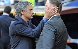 """Jose Mourinho ghen tỵ với Louis van Gaal vì chiếc """"ghế nóng"""" tại Man Utd"""