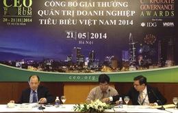 Sẽ có giải thưởng vinh danh doanh nghiệp Việt quản trị xuất sắc