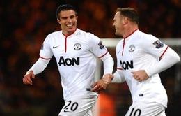 Rooney sẽ không ghen tỵ nếu Van Persie được đeo băng đội trưởng Man Utd