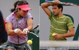 Roland Garros: Dimitrov nối bước Wawrinka trở thành khán giả sau vòng 1