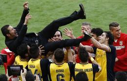 Atletico Madrid sẽ chỉ bán ngôi sao với giá... phá vỡ hợp đồng