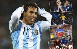 """Những """"ông sao"""" phải làm khán giả tại World Cup 2014"""