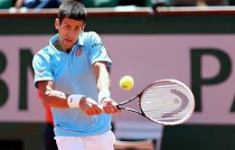 """Roland Garros: Nole thể hiện sức mạnh vượt trội, """"ngựa ô"""" Gulbis dừng bước tại bán kết"""