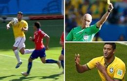 Brazil đã bị trọng tài Howard Webb cướp trắng một bàn thắng hợp lệ?