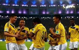 Uruguay 0-2 Colombia: Maracana chia nửa vui buồn
