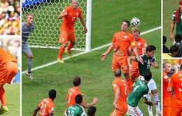 Hà Lan 2-1 Mexico: 5 phút nghiệt ngã...