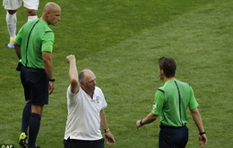 """Brazil thắng chật vật, Scolari tố trọng tài """"trù ẻo"""""""