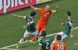 Robben thừa nhận cố tình nằm sân kiếm phạt đền