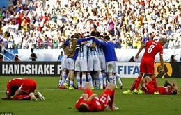 """Argentina 1-0 Thụy Sĩ: Thắng cũng phải """"bở hơi tai"""""""