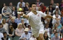 "Wimbledon 2014: Thắng ""hú vía"" Cilic, Nole đụng Dimitrov tại bán kết"