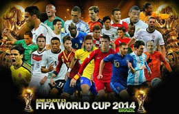 World Cup 2014 và những cái nhất