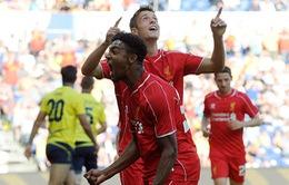 Brendan Rodgers tự tin: Liverpool sẽ sống tốt mà không có Suarez