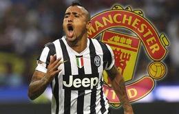 Chuyển nhượng sáng 02/08: Vidal sẽ được trao áo số 7 huyền thoại tại Man Utd