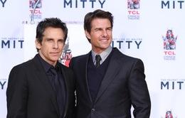 Tom Cruise chủ trì buổi lễ vinh danh Ben Stiller tại Hollywood