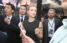 Người đẹp Scarlett Johansson được chào đón tại Trung Quốc
